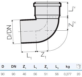 TRISTORM CURVA D.90 87° codice prod: IT00099 product photo Foto1 L2