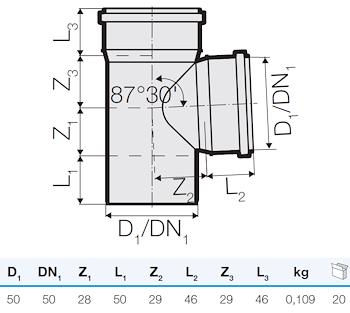TRISTORM BRAGA D.50/50 87° codice prod: IT00117 product photo Foto1 L2