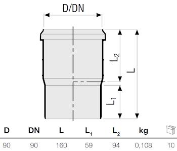 P.P. BICCHIERE A DOPPIA PROFON.DIAM.90 codice prod: DSV10105 product photo Foto1 L2