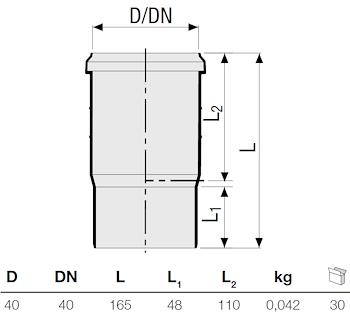 P.P. BICCHIERE MONTAGGIO D. 40 codice prod: DSV00988 product photo Foto1 L2