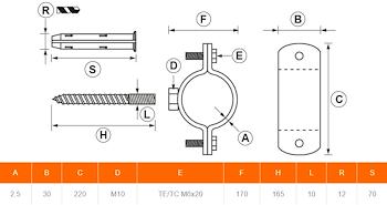 COLL.TUBO FUMO INOX DN 160 codice prod: DSV05659 product photo Foto1 L2