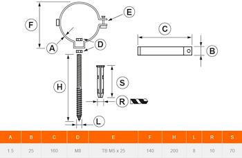 COLL.TUBO FUMO INOX DN 130 codice prod: DSV05656 product photo Foto1 L2