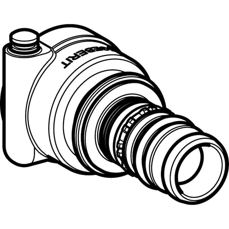 RACC DIRITTO COMPACT MEPLA 20 612 PER COLLETTORE codice prod: 612.425.00.5 product photo