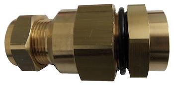 RACCORDO A COMPRESSIONE GAS DN25 PER CONNESSIONE TUBI RAME 28X1 codice prod: DSV16319 product photo Default L2