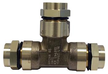RACCORDO A T PER GAS RIDOTTO 32X32X25 codice prod: DSV16307 product photo Default L2