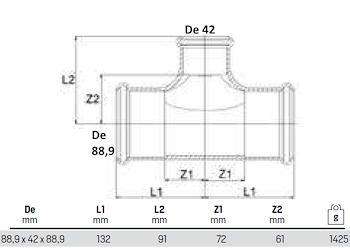 TEE RIDOTTI 88X42X88 codice prod: DSV10938 product photo Foto1 L2