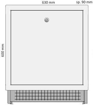 CASSETTA STORM X COLL. 600X630X90 - 150 codice prod: DSV14380 product photo Foto1 L2