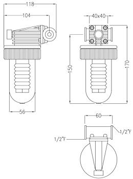 """UNO 152 - 1/2"""" PN10 codice prod: DSV08017 product photo Foto1 L2"""