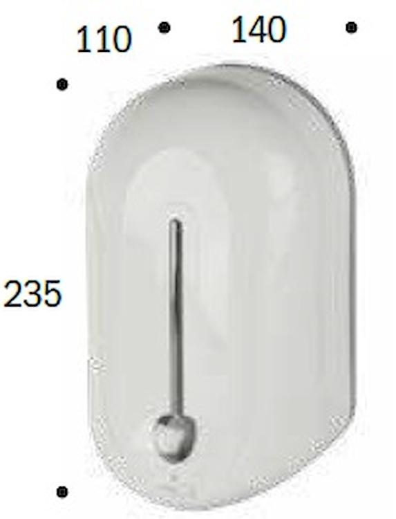 DOSATORE DI SAPONE ELETTR.C/BATTERIA IN codice prod: DSV16606 product photo