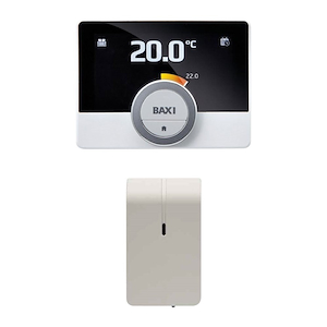 CRONOTERMOSTATO MODULANTE BAXI MAGO CON WI-FI INTEGRATO E KIT ADATTATORE GTW16 (OPENTHERM E ON/OFF) codice prod: 7652303 product photo