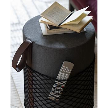 ROLL SEDUTA DOCCIA WATERPROOF CON MANIGLIA ROSSA BIANCO PURO codice prod: EVRLWBPMR product photo Foto4 L2