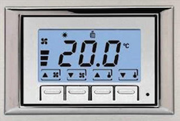 COMANDO AUTOMATICO VELOCITA' C/TERMOST. ELETTRONICO PER INCASSO IN SCATOLA 503 codice prod: DSV17272 product photo