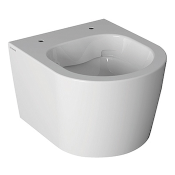 FORTY3 WC SOSPESO S/BRIDA BCOL FISSAGGI NASCOSTI BIANCO LUCIDO codice prod: FOS06BI product photo Default L2