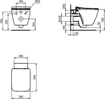 STRADA II WC SOSP AQUABL SED RALL BEU01 FISSAGGI NASCOSTI CHIUSURA RALLENTATA codice prod: T359601 product photo Foto1 L2