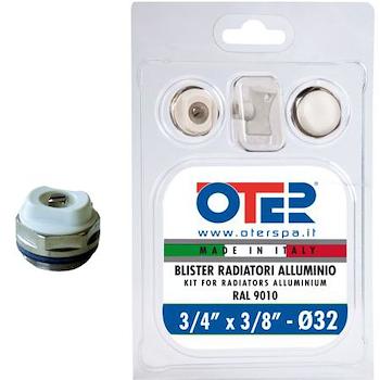"""100-B9-32 BLISTER ACC D 32 3/4"""" X3/8"""" VERNICIATI PER RADIATORI ALLUMINIO codice prod: 0100B323814900 product photo Default L2"""