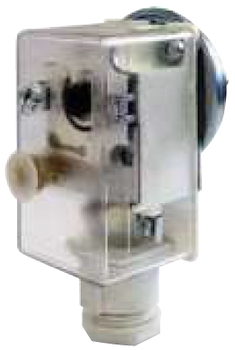 """PRESSOSTATO DI MINIMA A RIARMO MANUALE ATTACCO G1/4"""" CAMPO SCALA DA 0,5/2,5 BAR codice prod: DSV16981 product photo Default L2"""
