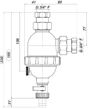 FILTRO DEFANGATORE CON MAGNETE STORM WHITE CICLONICO codice prod: DSV17821 product photo Foto1 L2
