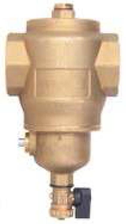 """DEFANGATORE MAGNETICO FILETTATO G 1""""1/2 IN OTTONE CON COIBENTAZIONE codice prod: DSV17825 product photo"""