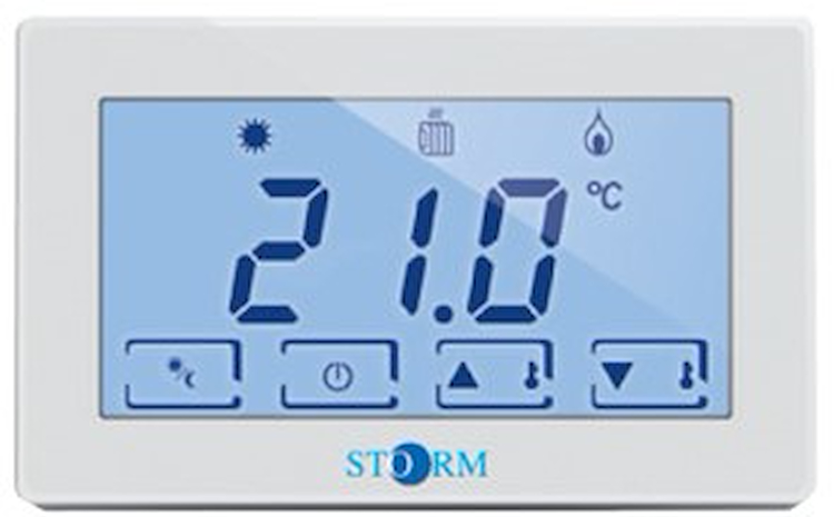 TERMOSTATO TOUCHSCREEN RETROIL.A 230VAC codice prod: DSV16979 product photo