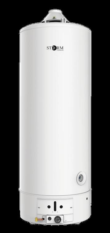 SCALDAB.GAS ACCUMULO BASAM.ST LT. 200 BASSO NOX codice prod: DSV16938 product photo