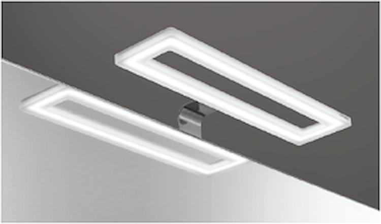 FARETTO CROMO A LED W 17 F72 CON ALIMENTATORE INCLUSO codice prod: DSV17582 product photo