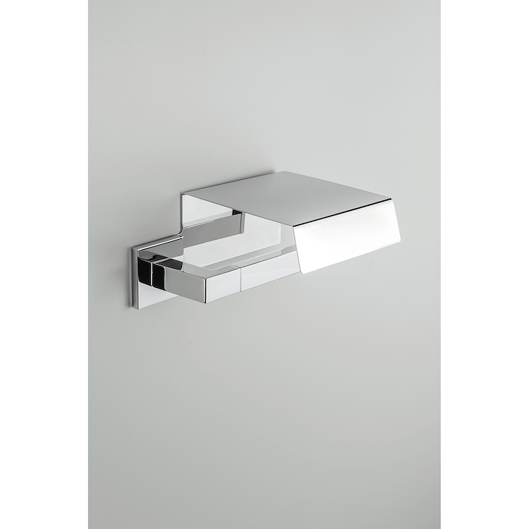 BASIC Q B3791 PORTA ROTOLO CON COPERCHIO CROMATO codice prod: B37910CR product photo