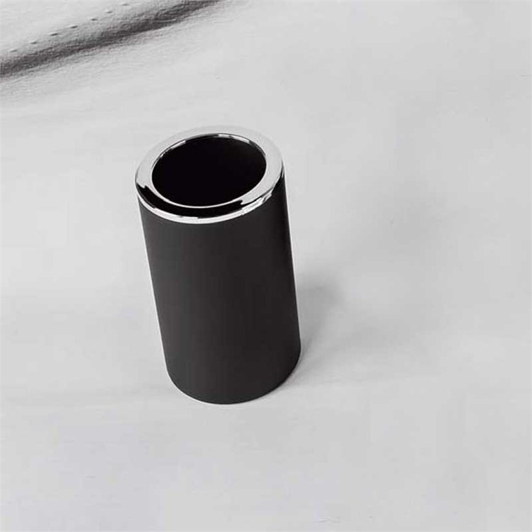 COOL W4402 P/BICCH PENGUY APPOGG RESINA PORTABICCHIERE NERO codice prod: W4402-RNE product photo