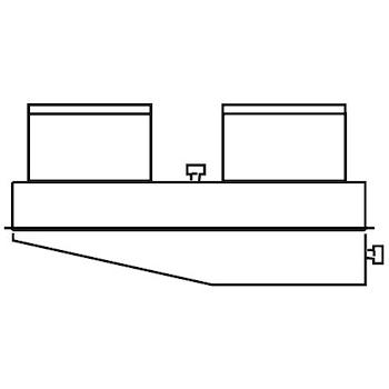 SDOPPIATORE CON PRESA ANALISI FUMI 80/80 codice prod: 0020221354 product photo Default L2
