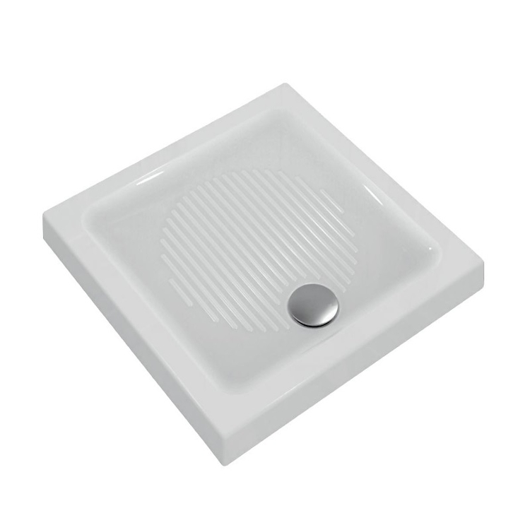 CONNECT PIATTO DOCCIA CERAMICA 80X80 BEU codice prod: T266001 product photo