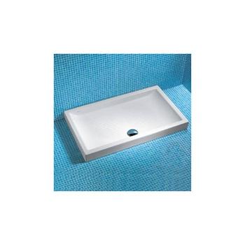 BRIDGE Piatto doccia 120x80 in ceramica bianco codice prod: J088400 product photo Default L2