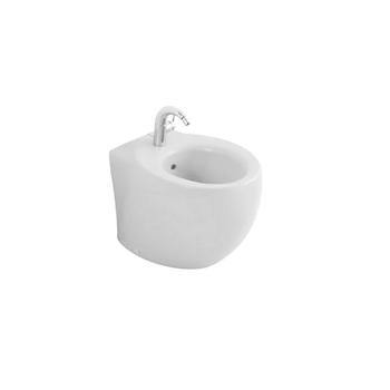 AVEO NEW BIDET SCARICO A PAVIMENTO filo parete bianco alpin con ceramicplus codice prod: 742100R1 product photo Default L2