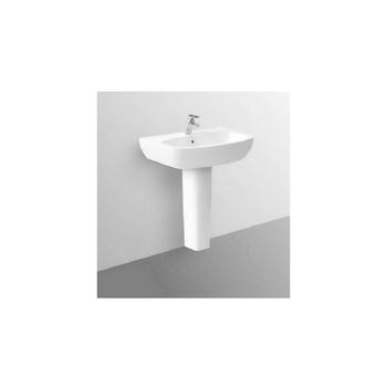 TESI DEISGN Lavabo 1 foro 55x46 bianco europeo sospeso GARANZIA EUROPEA 2 ANNI codice prod: T057001 product photo Default L2
