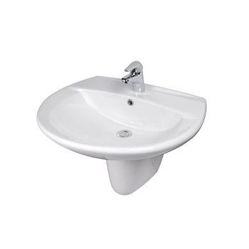 OPERA DE LUXE lavabo 635x520 sospeso codice prod: BCDEL3 0000 product photo Default L2