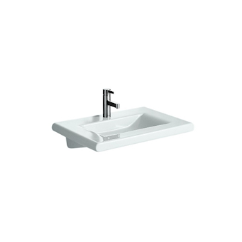 LIVING STYLE Lavabo 1 foro 68,5x45 bianco a consolle codice prod: 8144350001041 product photo Default L2
