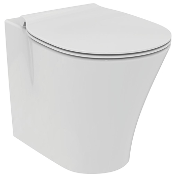 SERIE CONNECT AIR FILO PARETE WC E0043  + BIDET E0180  + SEDILE product photo Foto1 L2