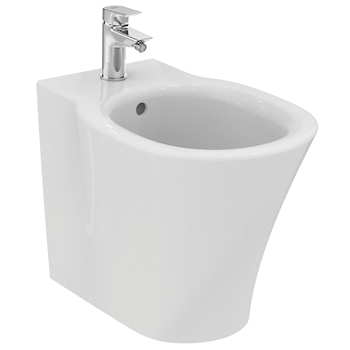 SERIE CONNECT AIR FILO PARETE WC E0043  + BIDET E0180  + SEDILE product photo Foto2 L2