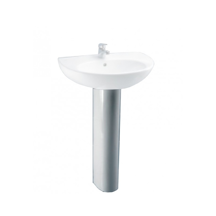 PERLA Colonna Lavabo bianca codice prod: J326000 product photo