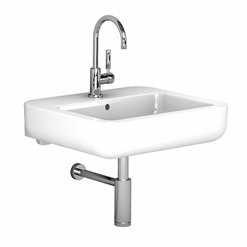 EASY.02 LAVABO 1/3FORI 60X54,5 BIANCO  codice prod: 42060000 product photo Default L2