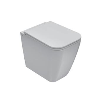 STONE WC 52.36 MULTI FILO PARETE CON FISSAGGI GHOST BIANCO LUCIDO codice prod: ST002BI product photo Default L2