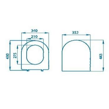 ESEDRA SEDILE TERMOINDURENTE codice prod: IDS20TL product photo Foto1 L2