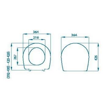 COLIBRI 2 SEDILE TERMOINDURENTE codice prod: PGN11TL product photo Foto1 L2