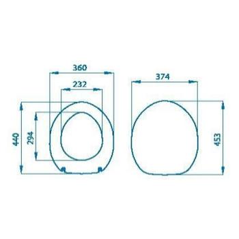 ARIANNA SEDILE TERMOINDURENTE codice prod: GLB10TL product photo Foto1 L2
