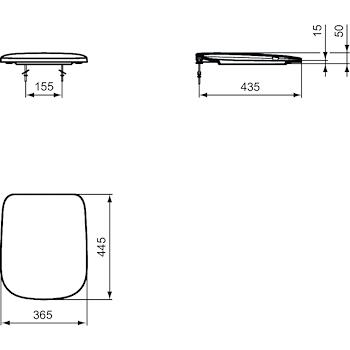 ESEDRA SEDILE BIANCO codice prod: T318201 product photo Foto1 L2
