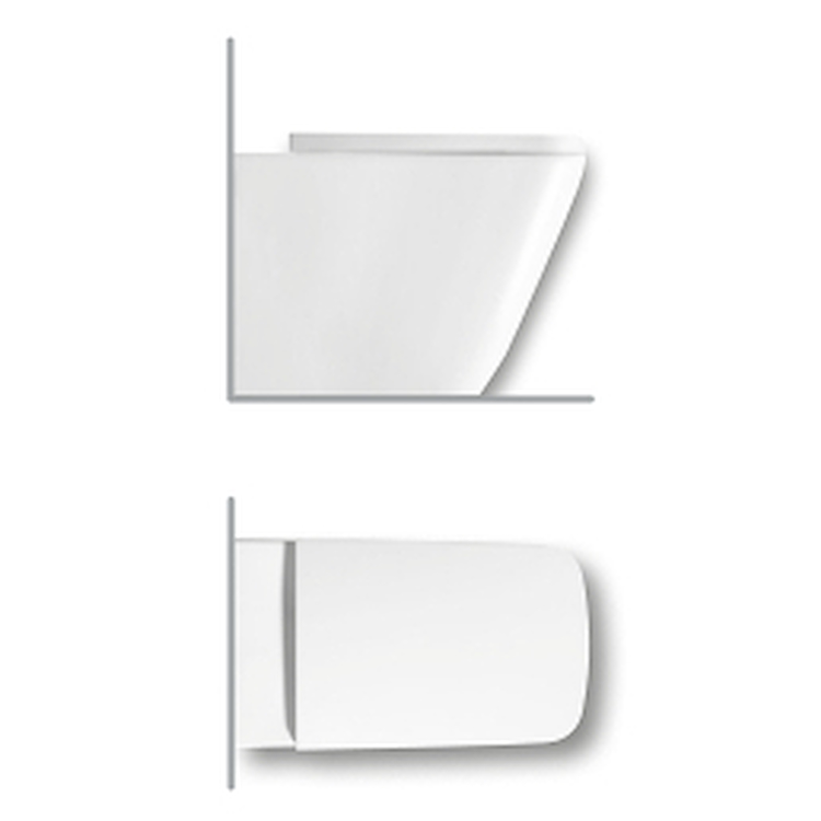 BIANCA WC 36,0 X 52 FILO PARETE codice prod: Y1VA01 product photo