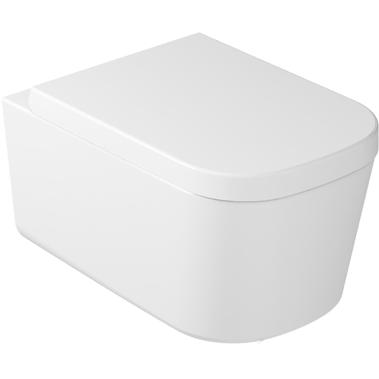 MEG11 WC SENZA BRIDA SOSPESO 55X35 BIANCO codice prod: 5486 product photo