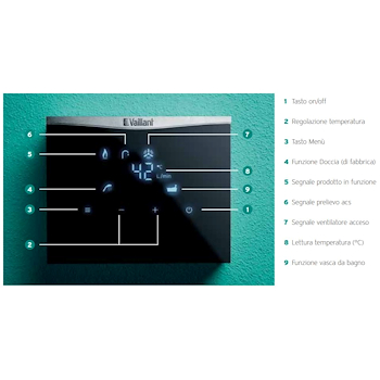OUTSIDEMAG 158/1-5 METANO SCALDABAGNO CAMERA STAGNA ACCENSIONE ELETTRONICA PER ESTERNO codice prod: 0010022467 product photo Foto1 L2
