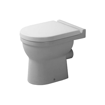 STARCK 3 WC fondo piatto bianco codice prod: 0125090000 product photo Default L2