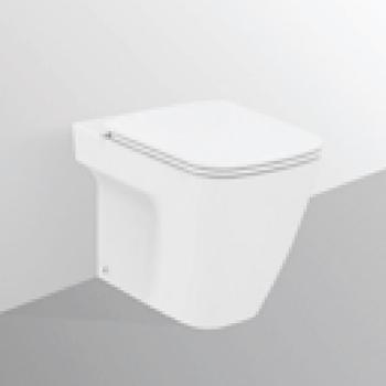 Vaso Ceramica Dolomite Miky.Vaso Ceramica Dolomite Mia Filo Parete Con Sedile Slim Bianco Codice Prod J505400 Ideal Standard Ceramica