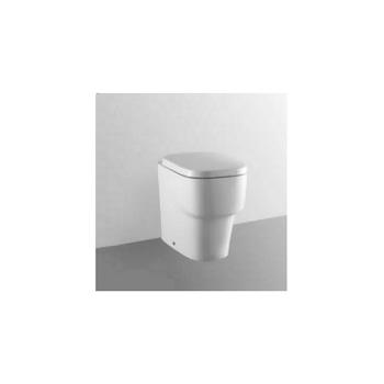 IMAGINE WC filo parete scarico universale con sedile chiusura rallentata bianco codice prod: T314901 product photo Default L2