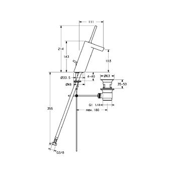 HANSASTELA MIX LAVABO BIDET CROMATO codice prod: 57092201 product photo Foto1 L2